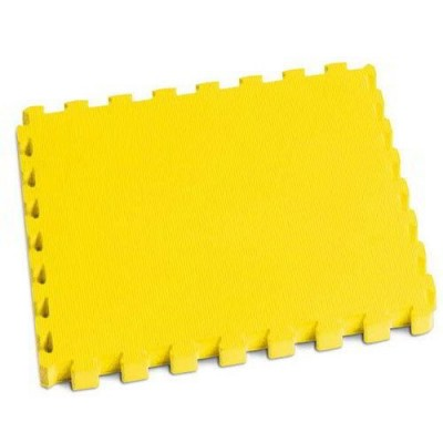 MATTONELLA EVA CM.100X100 SP.10MM - GIALLO