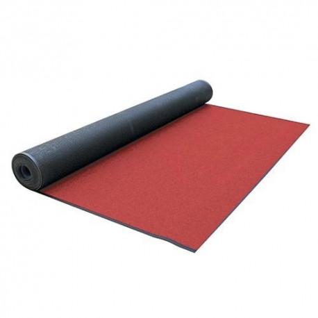 TAPPETO MT.25x1 H - SP.3 MM ROSSO