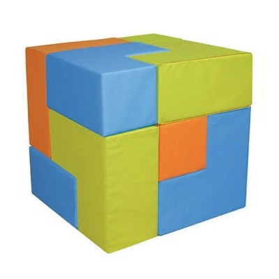 NUVOLA - CUBO TETRIX - SET 9 PZ. - 3 COL.ASS.