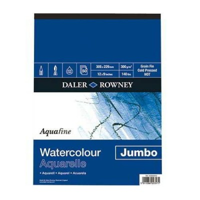 AQUAFINE BLOCCO JUMBO FG.50 GR.300 FINE - MM.305X229