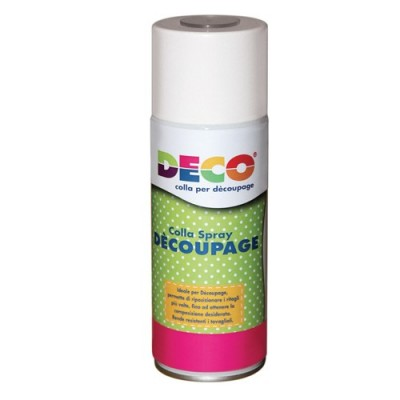 COLLA SPRAY PER DECOUPAGE