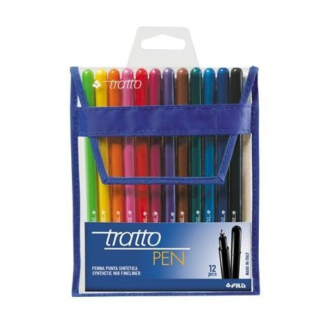 PENNARELLO TRATTO PEN BUSTA ASSORTITI IN 10 TINTE