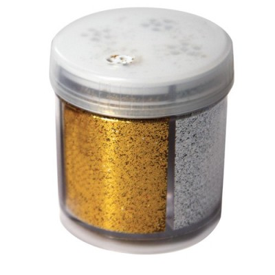 GLITTER - DISPENSER 40 GR IN 4 COLORI ASSORTITI
