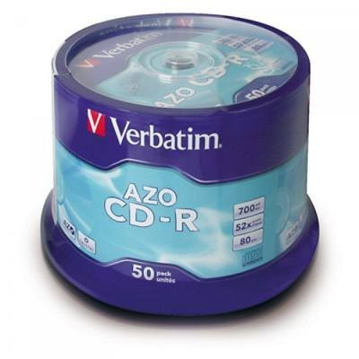 CD-R VERBATIM CON CUSTODIA
