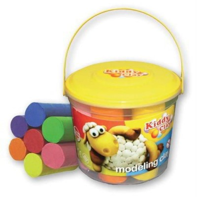 KIDDY CLAY - PLASTILINA GR160 - DISPLAY 24 PEZZI (GR3840)