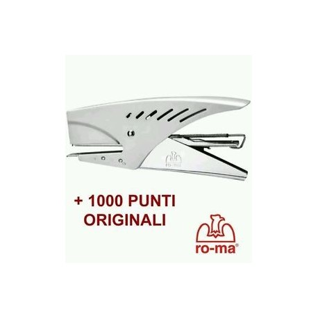 CUCITRICE A PINZA PUNTO NORMALE MADE IN ITALY EUROPLIER  + 1000 PUNTI ORIGINALI